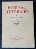 JOURNAL LITTÉRAIRE Tome XII  Mai 1937 - Février 1940. LÉAUTAUD, Paul