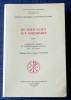 DE TERTULLIEN AUX MOZARABES Tome I: Antiquité tardive et christianisme ancien (IIIe-VIe siècles). Institut de recherche et d'histoire des textes