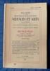 Bulletin de la société d'agriculture sciences et arts de la  Sarthe N° 469, numéro spécial 1972 - IVe série Tome VIII. Société d'agriculture, ...