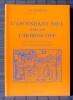 L'ASCENDANT SEUL N'EST PAS L'HOROSCOPE : les trois points du Levant dans la domification antique. CHRISTIAEN, Yves