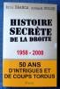 HISTOIRE SECRÈTE DE LA DROITE 1958-2008 : cinquante ans d'intrigues et de coups tordu. BRANCA, Eric FOLCH, Arnaud