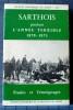 Sarthois pendant l'Année terrible : 1870-1871 : études et témoignages. Collectif