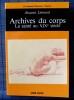 ARCHIVES DU CORPS. LÉONARD, Jacques