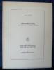 SAINT-LAURENT D'AOSTE : Rapport préliminaire de fouilles de 1972-1973. BONNET, Charles