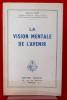LA VISION MENTALE DE L'AVENIR. LUZY, Antoine