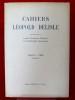 CAHIERS LÉOPOLD DELISLE Tome 2, fascicule 2 - 1948. Société parisienne d'histoire et d'archéologie normandes