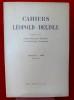 CAHIERS LÉOPOLD DELISLE Tome 3, fascicule 1 - 1949. Société parisienne d'histoire et d'archéologie normandes