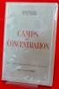 CAMPS DE CONCENTRATION . Service d'information des crimes de guerre