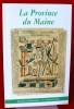 LA PROVINCE DU MAINE TOME 103 - 5e série : Tome XIV - Fascicule 60 - 4e trimestre 2001.