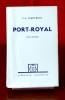 PORT-ROYAL Dixième édition Tome deuxième. SAINTE-BEUVE, Charles-Augustin