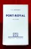 PORT-ROYAL Dixième édition Tome troisième. SAINTE-BEUVE, Charles-Augustin