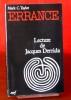 ERRANCE : lecture de Jacques Derrida, un essai d'a-théologie postmoderne. TAYLOR, Mark C.