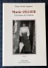 MARIE OLLIER : une femme de l'Ardèche. CAPPEAU, Marie Nicole