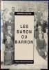 LES BARON OU BARRON. TROUVELOT, Marie-Hélène