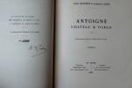 CHÂTEAUX DE LA SARTHE ANTOIGNÉ CHÂTEAU ET FORGE N° 6. LEDRU, Ambroise CHAPPÉE, Julien