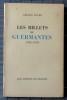 LES BILLETS DE GUERMANTES 1936-1939 Tome II. BAUËR, Gérard