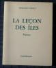 LA LEÇON DES ÎLES, poèmes . THALY, Fernand