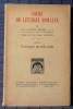 COURS DE LITURGIE ROMAINE Tome II Liturgie sacrificielle . COELHO, Antoine (Dom)