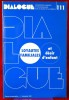 DIALOGUE : revue de recherches cliniques et sociologiques sur le couple et la famille N° 111 : Loyautés familiales . Association française des ...