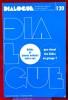 DIALOGUE : revue de recherches cliniques et sociologiques sur le couple et la famille N° 120 : Bébés et jeunes enfants entre eux . Association ...