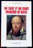 UN SAGE ET UN SAINT FRANÇOIS DE SALES. RAVIER, André