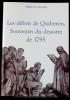 LES DÉBRIS DE QUIBERON SOUVENIRS DU DÉSASTRE DE 1795. GOURNERIE, Eugène de la
