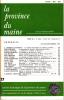 LA PROVINCE DU MAINE TOME 80 - 4e Série : Tome VII - Fascicule 27. Collectif