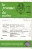 LA PROVINCE DU MAINE TOME 83 - 4e Série : Tome X - Fascicule 37. Collectif