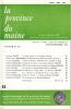 LA PROVINCE DU MAINE TOME 84 - 4e Série : Tome XI - Fascicule 43. Collectif