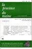 LA PROVINCE DU MAINE TOME 86 - 4e Série : Tome XIII - Fascicule 51. Collectif