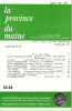 LA PROVINCE DU MAINE TOME 87 - 4e Série : Tome XIV - Fascicule 53-54. Collectif