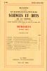 BULLETIN DE LA SOCIÉTÉ D'AGRICULTURE SCIENCE ET ARTS DE LA SARTHE N° 567 - numéro spécial 1981. Collectif