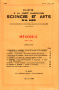 BULLETIN DE LA SOCIÉTÉ D'AGRICULTURE SCIENCE ET ARTS DE LA SARTHE N° 596 - numéro spécial 1984. Collectif
