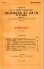 BULLETIN DE LA SOCIÉTÉ D'AGRICULTURE SCIENCE ET ARTS DE LA SARTHE N° 617 - numéro spécial 1986. Collectif