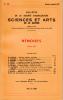 BULLETIN DE LA SOCIÉTÉ D'AGRICULTURE SCIENCE ET ARTS DE LA SARTHE N° 627 - numéro spécial 1987. Collectif