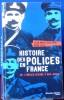 HISTOIRE DES POLICES EN FRANCE : de l'Ancien régime à nos jours. BERLIÈRE, Jean-Marc LEVY, René