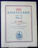 206e D'INFANTERIE LE RHIN. Ans III et IV de la République. LECLERC, Albert A. J. (lieutenant)