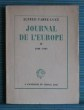 JOURNAL DE L'EUROPE