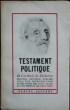 Testament Politique. RICHELIEU Cardinal de