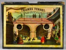 The Thames tunnel. 1200 feet long, 76 feet below high water mark, was 8 years building & cost £446,000, opened on the 25th day of March 1843.. The ...