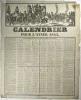 Calendrier pour l'année 1843..