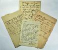 [Mirabeau]. Archives Cottier, créancier de feu le comte Mirabeau..