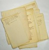Notes autographes de Deschiens pouvant servir de complément à son travail sur les journaux de la Révolution.. DESCHIENS (François-Joseph).