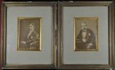 [Napoléon III] Portrait anonyme de Napoléon III assis (avant 1873)..