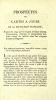 [Cartes à jouer]. Prospectus des cartes à jouer de la République française, publié en 1794 par le citoyen de Saint-Simon-Vermandois, créateur et ...