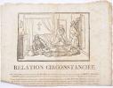 [Canard]. Relation circonstanciée de l'Arrêt rendu par la Cour d'assises de Versailles qui condamne à la peine de mort, les nommés Morinet, Péchard et ...