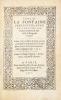 Livre de la fontaine perilleuse, avec la chartre d'amours : aultrement intitulé le songe du verger. Oeuvre tres-excellent, de poësie antique contenant ...