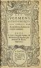 Les Jugemens astronomiques des songes par Artemidorus, Autheur ancien & renommé. Plus le livre d'Auguste Niphus des divinations & augures par Anthoine ...