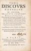 Trois Discours nouveaux et curieux de Louys Cornaro noble vénitien. Dans lesquels il enseigne le régime de vivre, tres-facile à toutes personnes, par ...