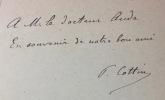 Lorédan Larchey (1831-1902). Souvenirs - Bibliographie.. COTTIN (Paul).